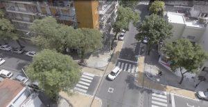 Estacionar moto en esquina con cajón