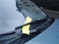 Multa por mal estacionamiento