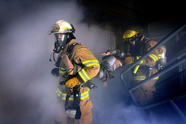 Incendio de casa